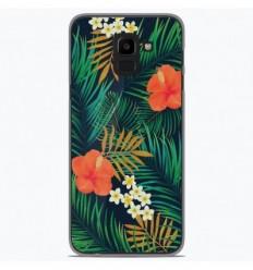 Coque en silicone Samsung Galaxy J6 Plus 2018 - Tropical