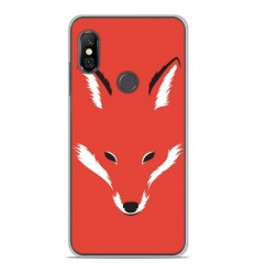 Coque en silicone Xiaomi Redmi Note 6 / Note 6 Pro - RF Foxy Shape