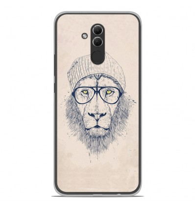 Coque en silicone Huawei Mate 20 Lite - BS Cool Lion