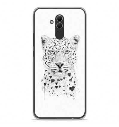 Coque en silicone Huawei Mate 20 Lite - BS Love leopard