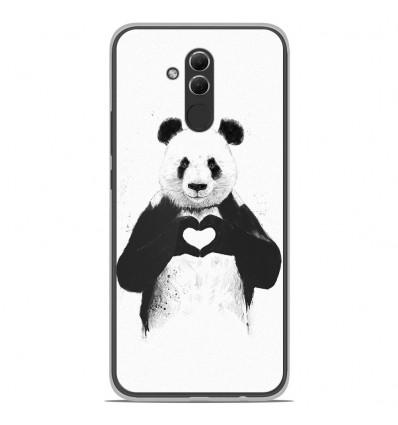 Coque en silicone Huawei Mate 20 Lite - BS Love Panda