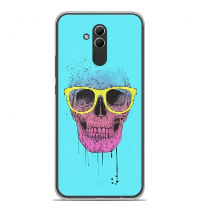 Coque en silicone Huawei Mate 20 Lite - BS Skull glasses