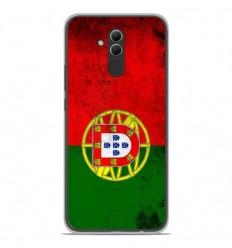Coque en silicone Huawei Mate 20 Lite - Drapeau Portugal