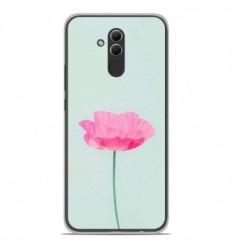 Coque en silicone Huawei Mate 20 Lite - Fleur Rose