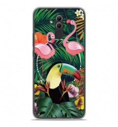 Coque en silicone Huawei Mate 20 Lite - Tropical Toucan