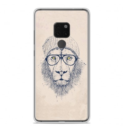 Coque en silicone Huawei Mate 20 X - BS Cool Lion