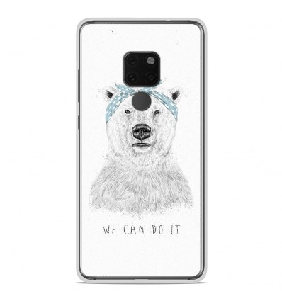 Coque en silicone Huawei Mate 20 X - BS We can do it