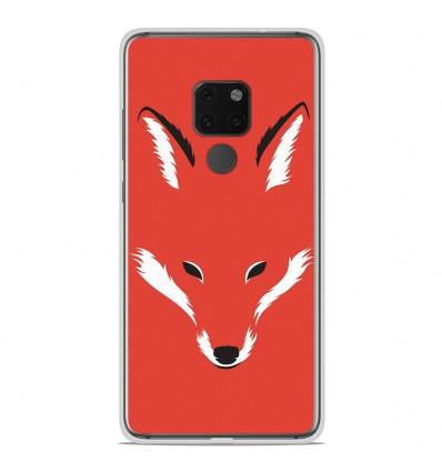 Coque en silicone Huawei Mate 20 X - RF Foxy Shape