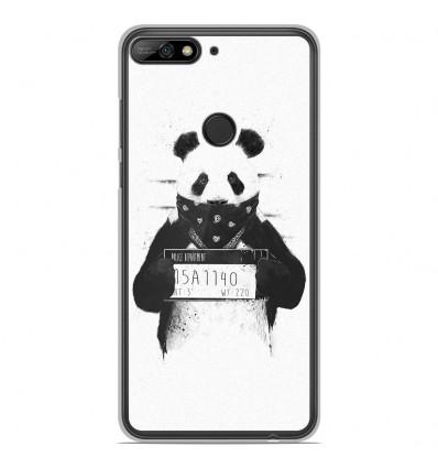 Coque en silicone Huawei Honor 7C - BS Bad Panda