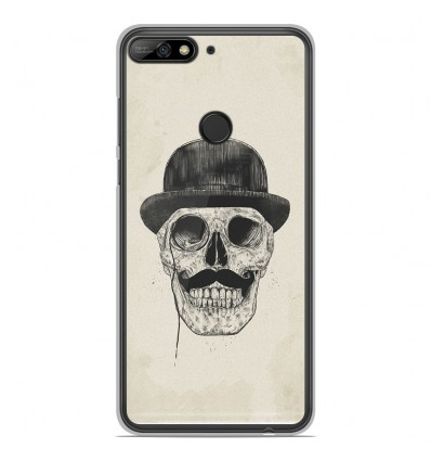 Coque en silicone Huawei Honor 7C - BS Class skull