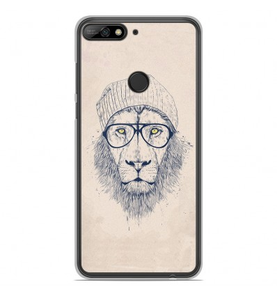 Coque en silicone Huawei Honor 7C - BS Cool Lion