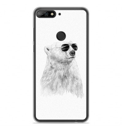 Coque en silicone Huawei Honor 7C - BS Sunny bear