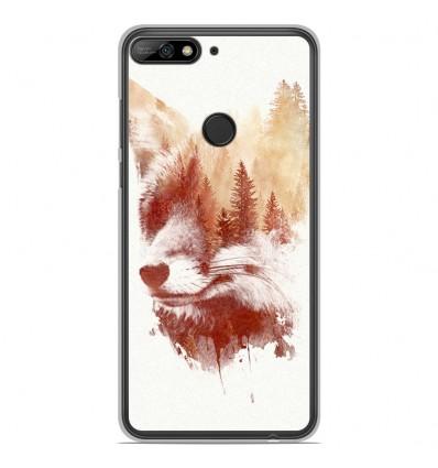 Coque en silicone Huawei Honor 7C - RF Blind Fox