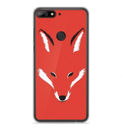 Coque en silicone Huawei Honor 7C - RF Foxy Shape