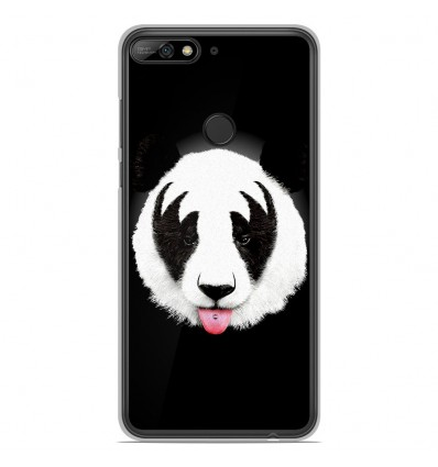 Coque en silicone Huawei Honor 7C - RF Kiss Of Panda
