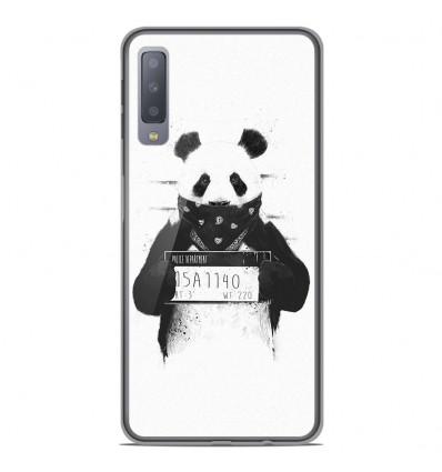 Coque en silicone Samsung Galaxy A7 2018 - BS Bad Panda
