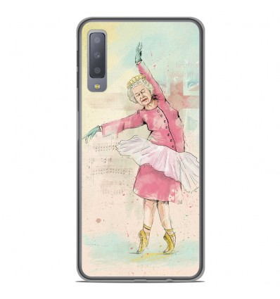 Coque en silicone Samsung Galaxy A7 2018 - BS Dancing Queen