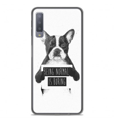 Coque en silicone Samsung Galaxy A7 2018 - BS Normal boring