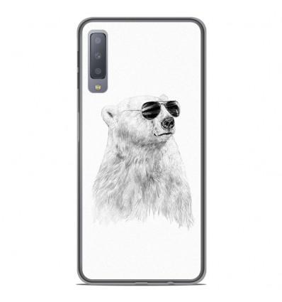 Coque en silicone Samsung Galaxy A7 2018 - BS Sunny bear