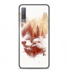 Coque en silicone Samsung Galaxy A7 2018 - RF Blind Fox
