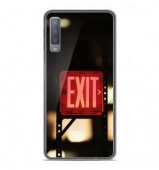 Coque en silicone Samsung Galaxy A7 2018 - Exit