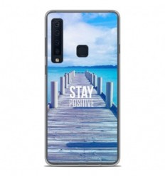 Coque en silicone Samsung Galaxy A9 2018 - Stay positive