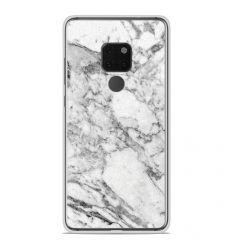 Coque en silicone Huawei Mate 20 - Marbre Blanc