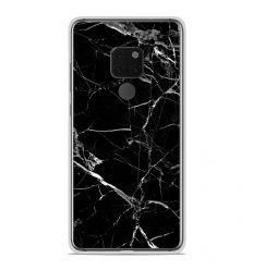 Coque en silicone Huawei Mate 20 - Marbre Noir