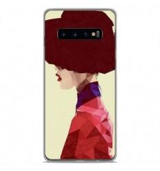Coque en silicone Samsung Galaxy S10 - ML Chic Hat