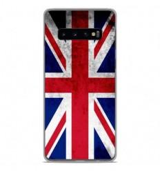 Coque en silicone Samsung Galaxy S10 - Drapeau Angleterre