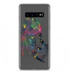 Coque en silicone Samsung Galaxy S10 - Dreamcatcher Gris