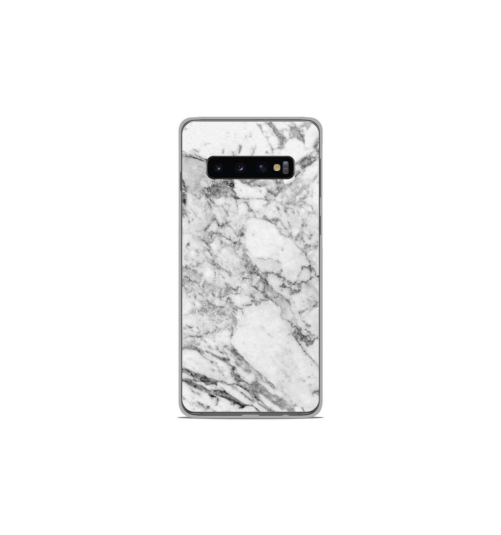 coque samsung a50 antichoc marbre