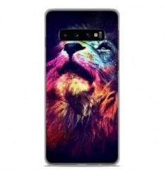 Coque en silicone Samsung Galaxy S10 - Lion swag