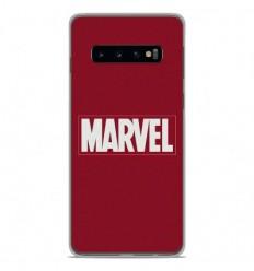 Coque en silicone Samsung Galaxy S10 - Marvel