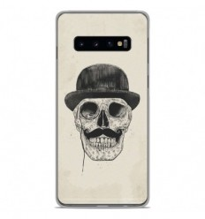Coque en silicone Samsung Galaxy S10 Plus - BS Class skull