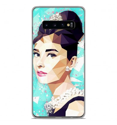 Coque en silicone Samsung Galaxy S10 Plus - ML Hepburn