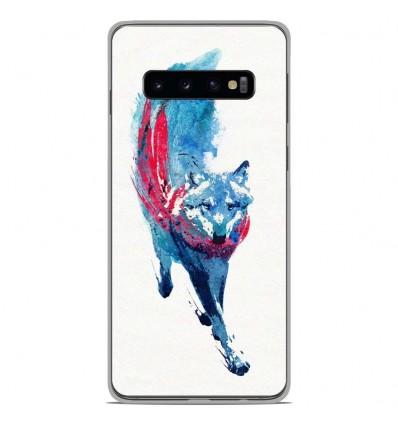 Coque en silicone Samsung Galaxy S10 Plus - RF Lupus Lupus