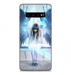 Coque en silicone Samsung Galaxy S10 Plus - Angel