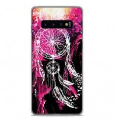 Coque en silicone Samsung Galaxy S10 Plus - Dreamcatcher Rose