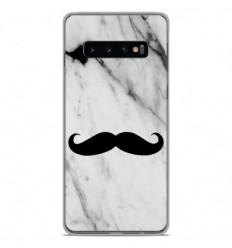 Coque en silicone Samsung Galaxy S10 Plus - Hipster Moustache