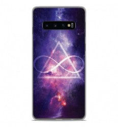 Coque en silicone Samsung Galaxy S10 Plus - Infinite Triangle
