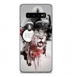 Coque en silicone Samsung Galaxy S10 Plus - Africa Swag