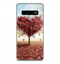 Coque en silicone Samsung Galaxy S10 Plus - Arbre Love