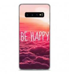 Coque en silicone Samsung Galaxy S10 Plus - Be Happy nuage