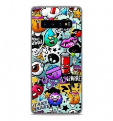 Coque en silicone Samsung Galaxy S10 Plus - Graffiti 2