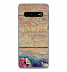 Coque en silicone Samsung Galaxy S10 Plus - The best summer