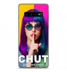 Coque en silicone Samsung Galaxy S10 Plus - Chut