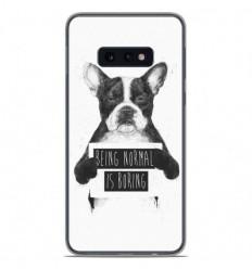 Coque en silicone Samsung Galaxy S10e - BS Normal boring
