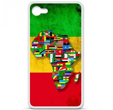 Coque en silicone pour Sony Xperia Z5 - Drapeau Africa Unite