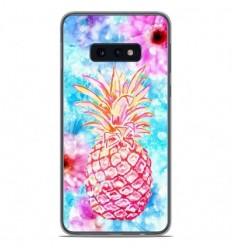 Coque en silicone Samsung Galaxy S10e - Ananas